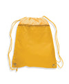 opq135200-polyester-cinch-bag-with-front-zipper-Gold-Oasispromos