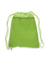 opq135200-polyester-cinch-bag-with-front-zipper-Kelly Green-Oasispromos
