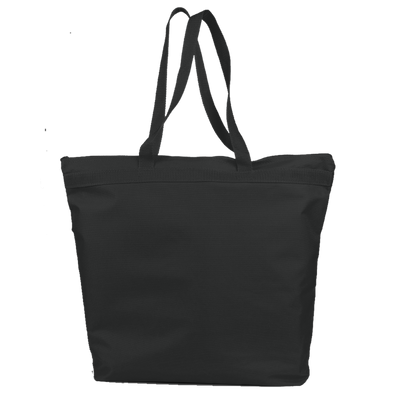 opq91221-polyester-deluxe-zippered-tote-bag-Black-Oasispromos