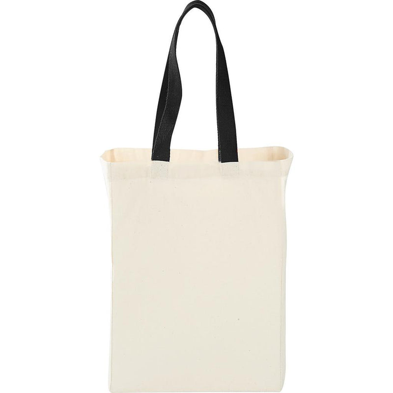 tfb122-cotton-canvas-grocery-bag-with-colored-handles-Black-Oasispromos