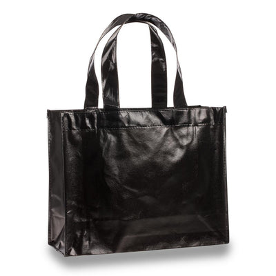 tfb73-attractive-laminated-tote-Hunter Green-Oasispromos