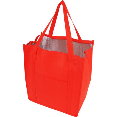 tfb77-insulated-grocery-tote-Hunter Green-Oasispromos