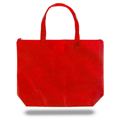 tfb85-zippered-non-woven-tote-bag-Black-Oasispromos
