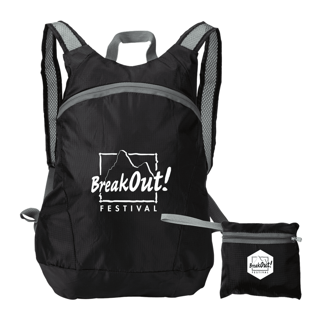 Ripstop Stow'n Go?? Backpack - Black:9918.preview.png
