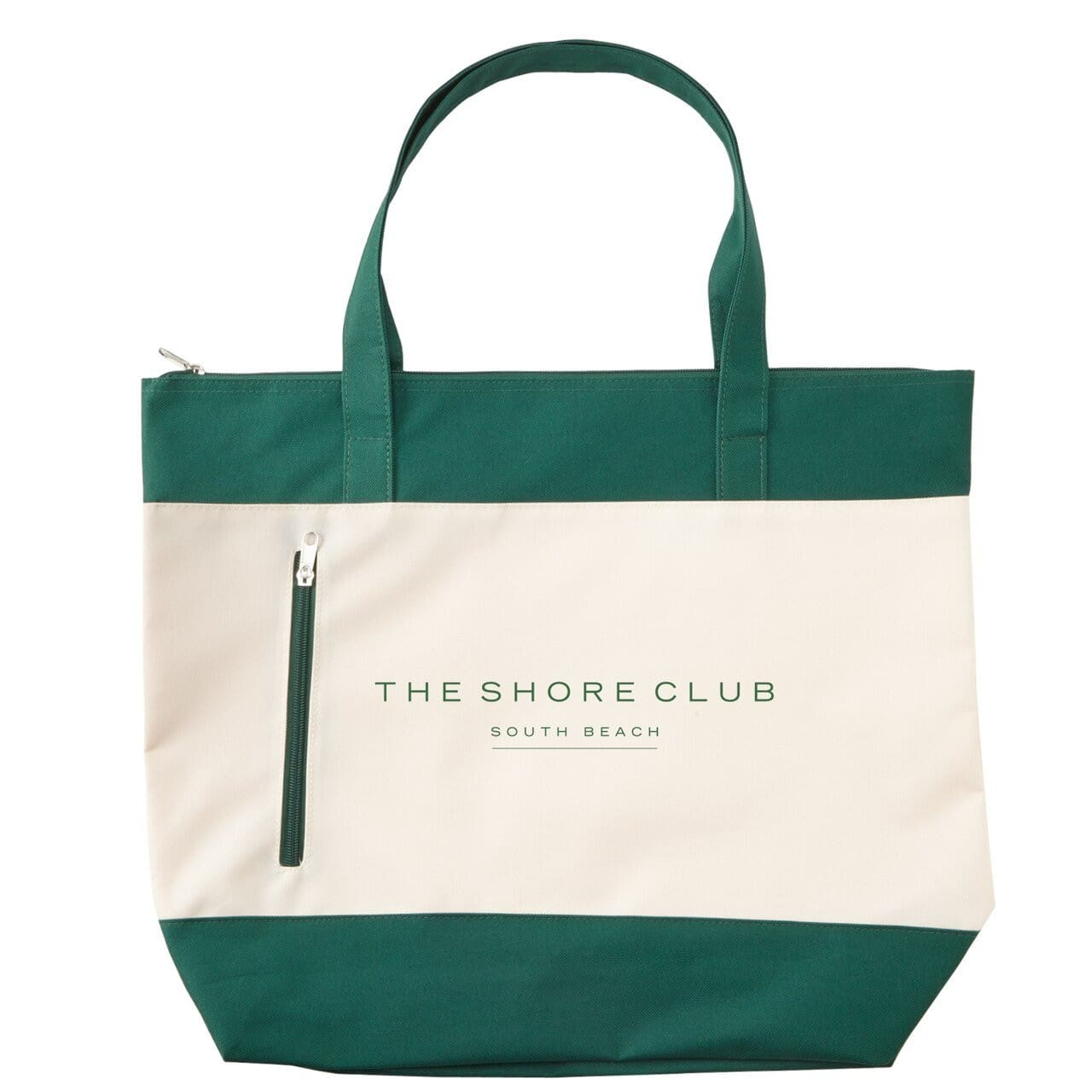 shoreline-boat-tote-Hunter Green-Oasispromos