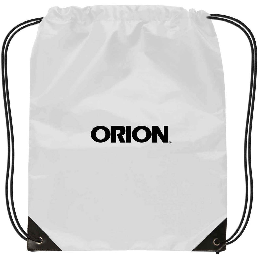 Small Drawstring Backpack - White:9599.preview.jpg