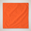 b5000-100-micro-polyester-solid-color-bandanna-face-cover-22x22-Orange-Oasispromos