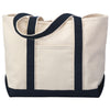 tf1258-hyp-beach-tote-classic-boat-bag-in-solid-colors-Solid Black-Oasispromos