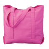 beach-tote-classic-boat-bag-variety-of-styles-and-colors-Natural /  Hot Pink-Oasispromos