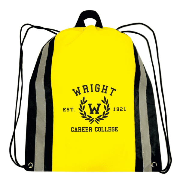 tfb86-reflective-stripe-cinch-bag-Black-Oasispromos