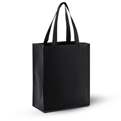 opq1000-canvas-shopping-tote-Chocolate-Oasispromos
