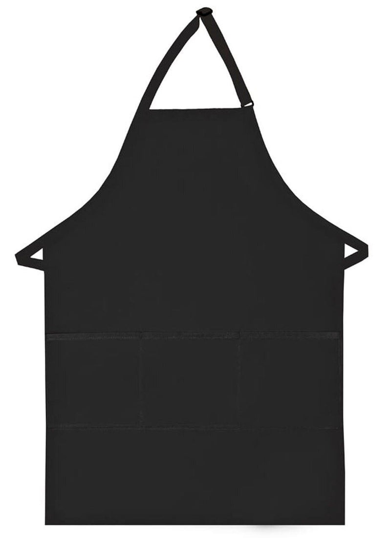 three-pocket-butcher-apron-ds-223-Black-Oasispromos