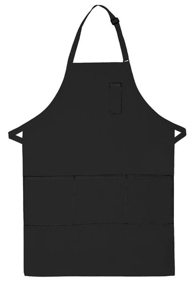 three-pocket-butcher-apron-w-pencil-pocket-ds-224-Brown-Oasispromos