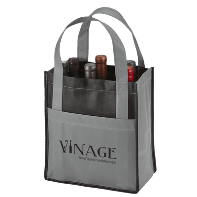 toscana-six-bottle-non-woven-wine-tote-Grey-Oasispromos