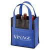 Toscana Six Bottle Non-Woven Wine Tote - Royal Blue:12048.preview.png