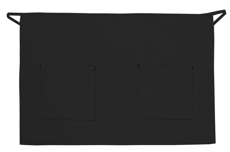 two-patch-pocket-half-bistro-ds-115-Black-Oasispromos