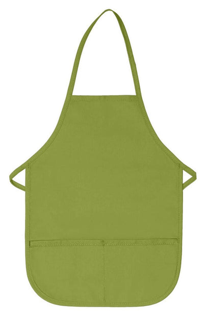 two-pocket-child-bib-apron-non-adj-neck-ds-250-Brown-Oasispromos