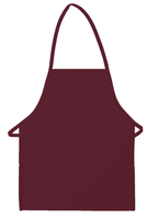 Two Pocket Promo Bib Apron Non-Adj Neck	DS-215