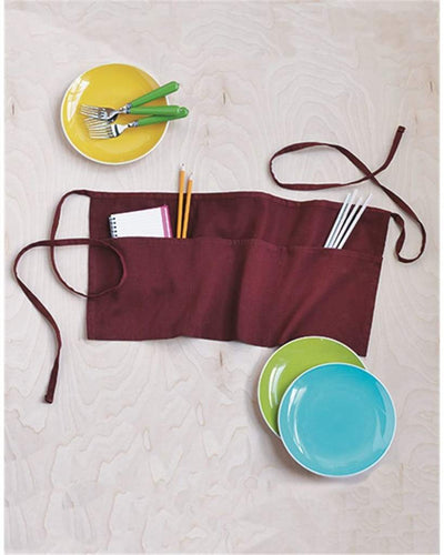 waist-apron-with-pockets-Black-Oasispromos