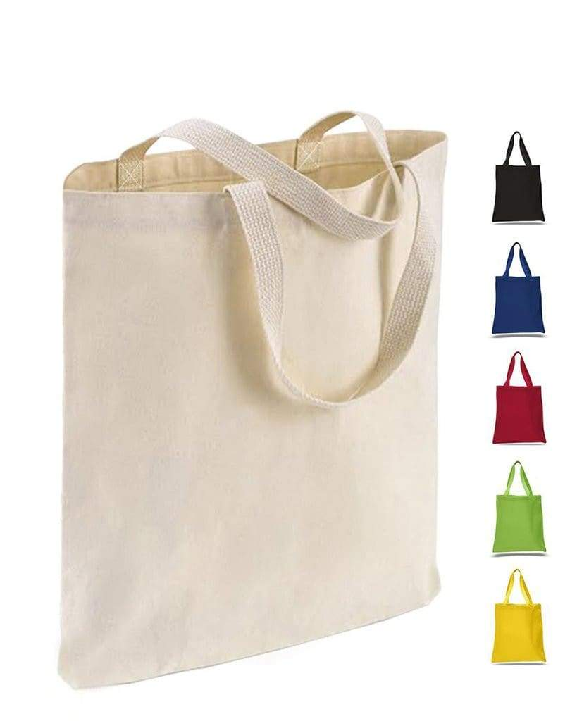 TFW800 - Canvas Promotional Tote with Web Handles