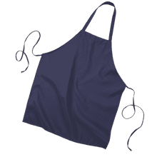 OPQ4010 Butcher Apron - Navy:#10105C - Royal:#5128F7