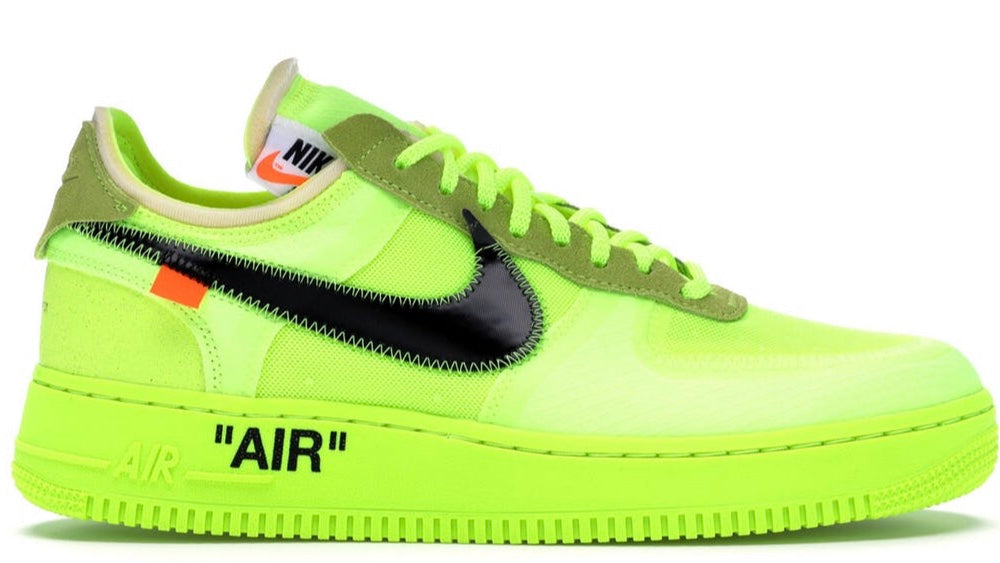 new style a5ec7 e7519 Off-White Air Force 1 Volt