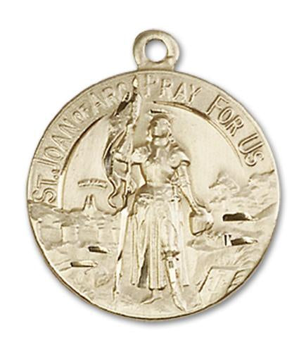 14kt Gold St. Joan of Arc Medal | Windows of Heaven Catholic Gifts | windowsofheavenco.com