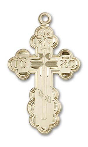 14kt Gold St. Olga Medal | Windows of Heaven Catholic Gifts | windowsofheavenco.com