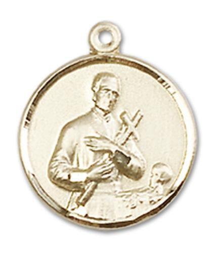 14kt Gold St. Gerard Medal | Windows of Heaven Catholic Gifts | windowsofheavenco.com