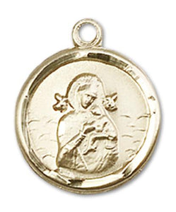 Windows of Heaven Catholic Gifts | windowsofheavenco.com | 14kt Gold Our Lady of Perpetual Help Medal with Medal Only