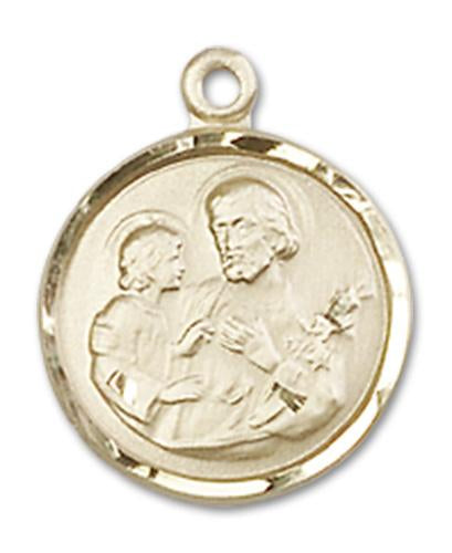 14kt Gold St. Joseph Medal | Windows of Heaven Catholic Gifts | windowsofheavenco.com
