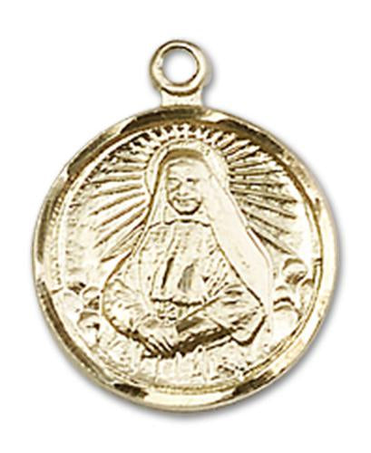 14kt Gold St. Cabrini Medal | Windows of Heaven Catholic Gifts | windowsofheavenco.com