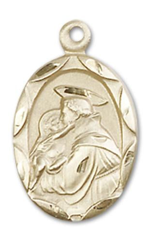 14kt Gold St. Anthony of Padua Medal | Windows of Heaven Catholic Gifts | windowsofheavenco.com