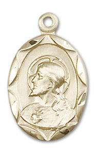 Windows of Heaven Catholic Gifts | windowsofheavenco.com | 14kt Gold Scapular Medal with Medal Only