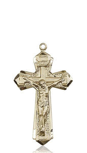 Windows of Heaven Catholic Gifts | windowsofheavenco.com | 14kt Gold Crucifix Medal