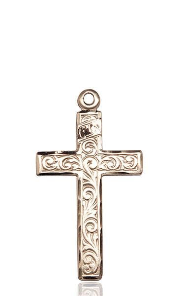 Windows of Heaven Catholic Gifts | windowsofheavenco.com | 14kt Gold Cross Medal