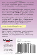 Load image into Gallery viewer, A Pocket Guide to Catholic Apologetics