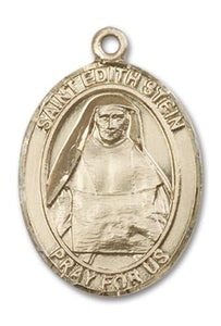 14kt Gold St. Edith Stein Medal | Windows of Heaven Catholic Gifts | windowsofheavenco.com