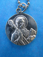Saint Benedict Religious Medal with Chain