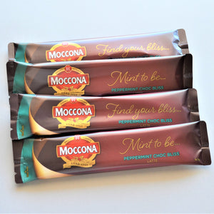 The Swirl Box Moccona coffee sachets