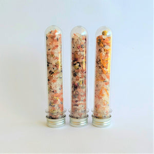 The Swirl Box 3 Bath Salts in tubes