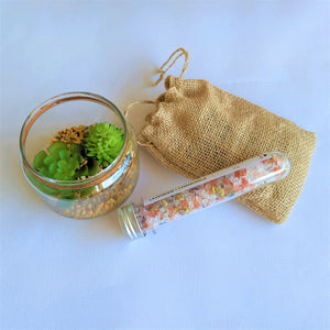 Swirl Box Lavender and Chamomile Bath Salts tube