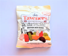 Load image into Gallery viewer, Packet of Taveners British mix gums, 165g made in the UK