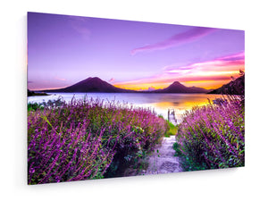 Leinwandbild - Textil - Lake Atitlán, Guatemala by Mark Harpur - King Of Shirts