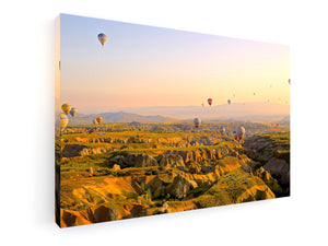 Leinwandbild - Premium - Fine Art - Cappadocia, Turky - King Of Shirts