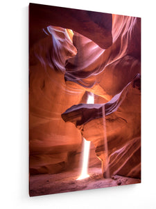Leinwandbild - Textil - Antelope Canyon, United States by Madhu Shesharam - King Of Shirts