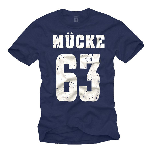 MÜCKE 63 T-Shirt Größe S-XXXL - King Of Shirts