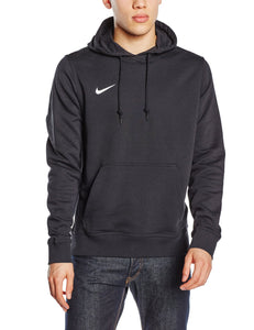 Nike Herren Kapuzenpullover Team Club, Schwarz (Black/White) - King Of Shirts