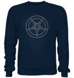 Pentagram Lucifer 666 - Basic Sweatshirt - King Of Shirts