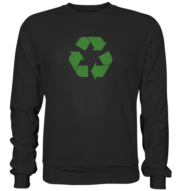 Sheldon Cooper - Recycling Logo - Basic Sweatshirt - King Of Shirts